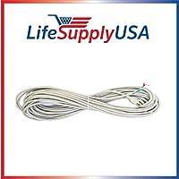 50 ft, 50 Foot, 50 Feet Vacuum Cord 18/3 18-3 18 3 fits Sanitaire Eureka 52370-12 by LifeSupplyUSA
