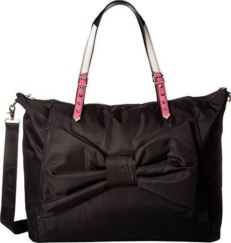 - Betsey Johnson Women's Yoga Mat Weekender Black One Size