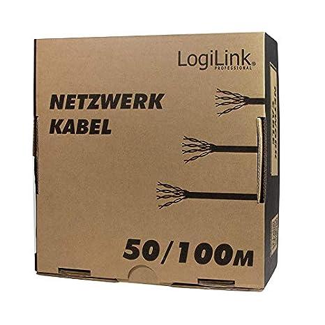 LogiLink Cable de instalación SFTP (100 m, cat 5e)