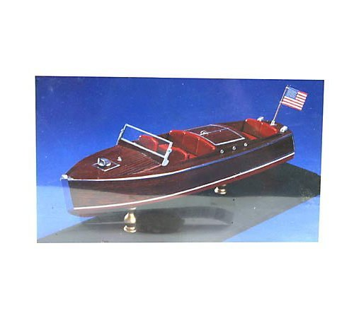 Craft Chris Boats Wooden - 1930 Chris Craft Runabout Wooden Boat Kit by Dumas