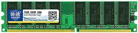 DDR 266MHz 1GB ジェネラル フル互換性 メモリ RAM モジュール デスクトップPC用 高速