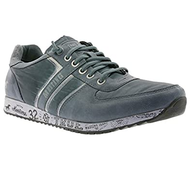 Mustang Schuhe Herren Sneaker Turnschuhe Grau 63135 120158M