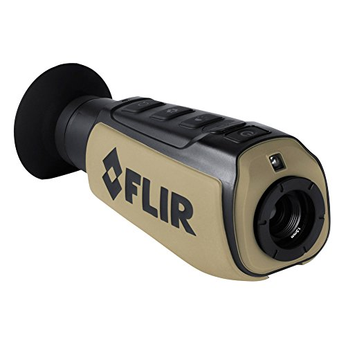FLIR Systems Scout III-640 Thermal Imager, Detector 640 X 320 30Hz, Black/Brown