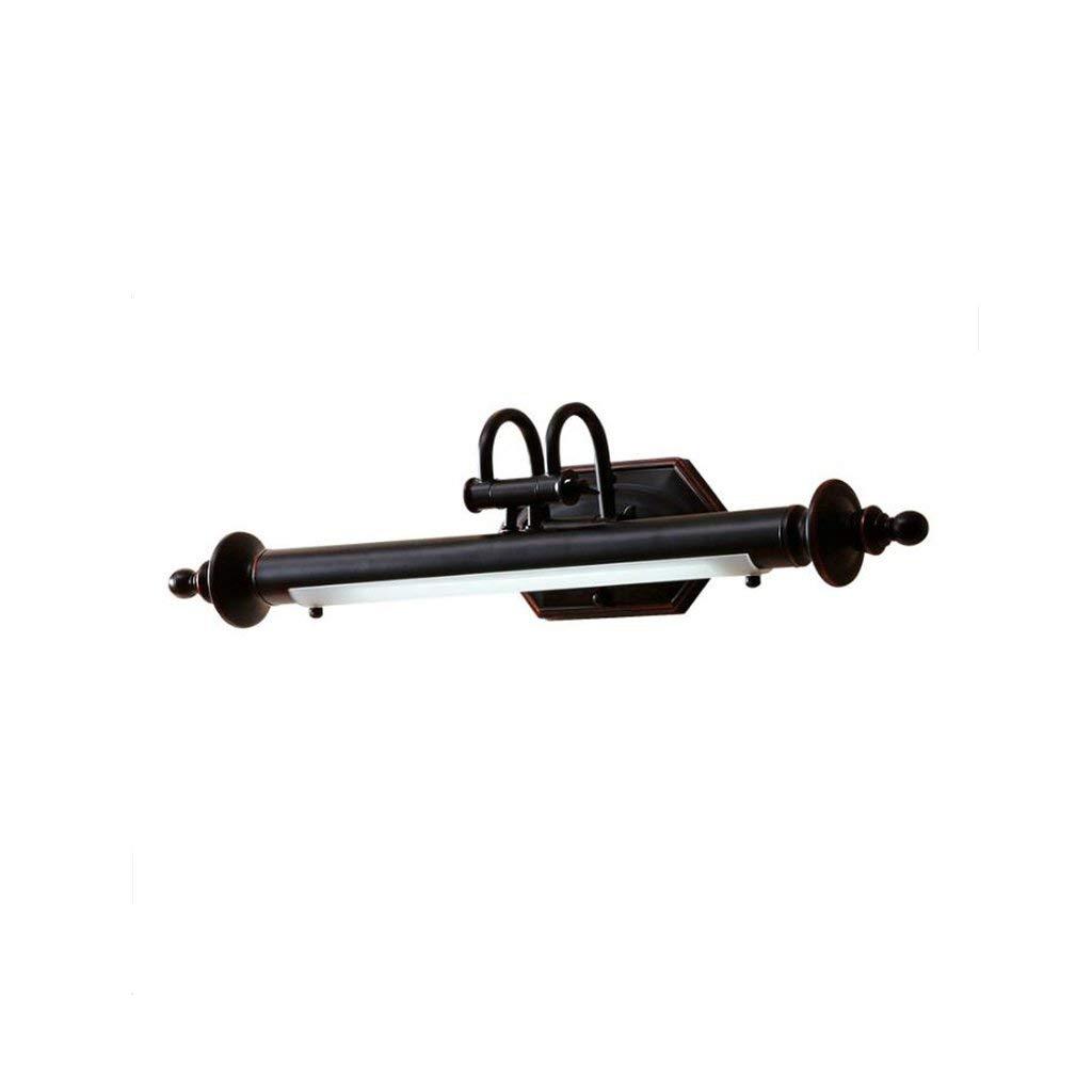 Fenciayao ヨーロッパスタイルのLEDミラーヘッドライトレトロバスルームミラーキャビネットライトバスルームアクセサリー   B07QLJX473