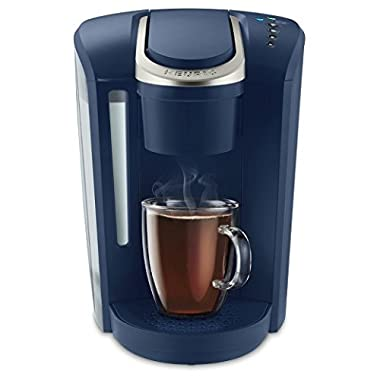 Keurig K-Select Single Serve K-Cup Pod Coffee Maker, With Strength Control and Hot Water On Demand, K-Cup Pod Single-Serve Coffee Maker Brewer, 12 oz, Matte Navy