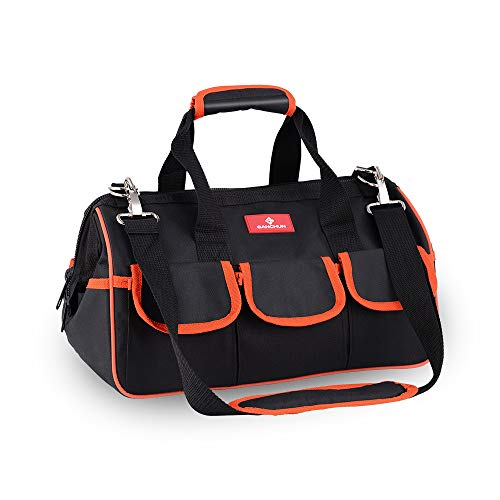 17-Inch Water Proof Multi-Compartment Pocket Tradesman's Wide