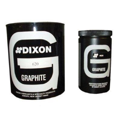 Powdered Amorphous Graphite Cap. Wt.: 1lb, Price for 1 Can (part# L6201) by Dixon Graphite