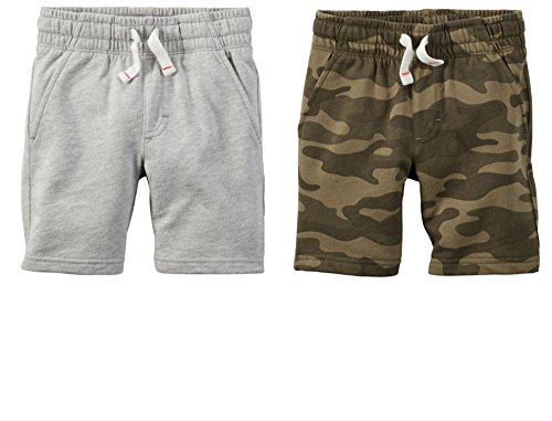 Carters Boys 2-Pack French Terry Shorts