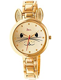 Hotesse Quartz Gold Bracelet Women's Watch