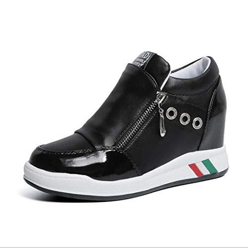 cheap Womens Hidden Heels Wedges Sneakers High Heels Platform Shoe Off Footwear Tenis Casual Basket hot sale