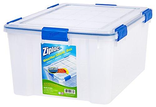 Big Plastic Storage Boxes Sterilite 19344304 54 Quart 51