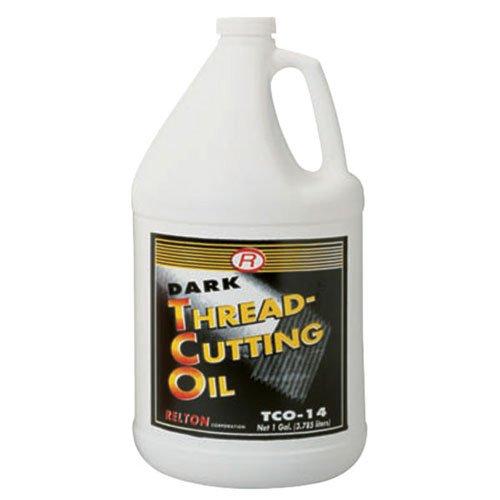 1 Gallon Thread Cutting Oil (Relton Corp TCO14 Dark Thread-Cutting Oil, 1 gallon Bottle)