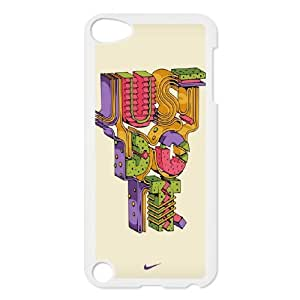 NIKE JUST DO IT R-N-G1032492 Ipod Touch 5 Phone Back Case Personalized Art Print Design Hard Shell Protection