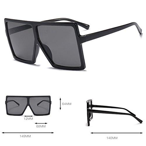Plastique cadre de Unisexe Eyewear pour 1 Loegrie NEUF femme extérieur 1 carré homme Grand Lunettes rétro soleil nbsp;paire w707XxZqp