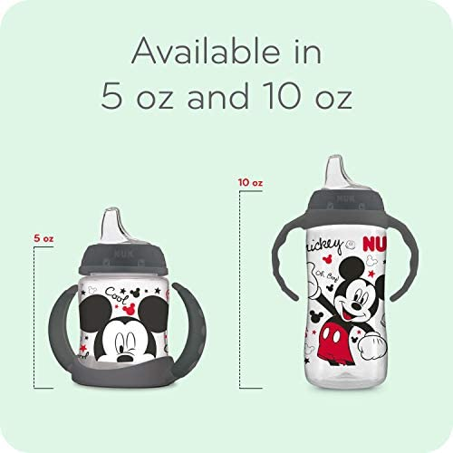 41r28998jnL. AC - NUK Disney Large Learner Sippy Cup, Mickey Mouse, 10 Oz 1Pack