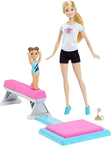 Barbie Flippin Fun Gymnast [Amazon Exclusive] 3 Baby Doll T-shirt