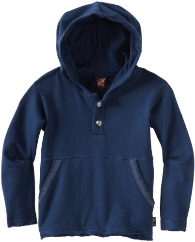 Charlie Rocket Little Boys' Pull Over Fleece Hoodie