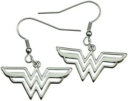 Wonder Woman 316l Surgical Stainless Steel Earrings