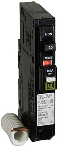 NEW SQUARE D QO120CAFIC 20A COMBINATION ARC-FAULT BREAKER Interrupter QO AFCI