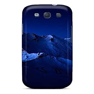 Tpu Fashionable Design Beautiful Mountain Range At Night Rugged Case Cover For Galaxy S3 New