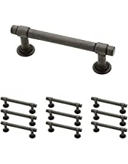 Franklin Brass P29520K-SI-B Soft Iron 3-Inch Francisco Kitchen or Furniture Cabinet Hardware Drawer Handle Pull, 10 Pack