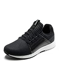 ONEMIX Unisex Ultra Light Soft Air Mesh Knitted Running Gym Active Sneakers Shoes