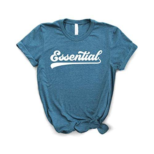 Essential Shirt Softstyle Unisex Shirt Nurse Shirt Essential Worker Multiple Colors Social Distancing Stay At Home Emt Shirt
