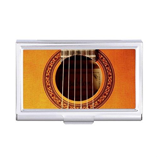 Seral Dik Business Card Holder Case Guitar Monogrammed Business Card Holder