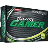 2016 Top Flite Gamer Yellow Golf Balls (12 Pack)