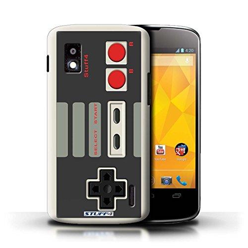 Kobalt® Imprimé Etui / Coque pour LG Nexus 4/E960 / Nintendo conception / Série Console (jeux vidéo)