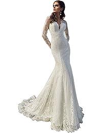 Amazon.com: Halter - Wedding Dresses / Wedding Party: Clothing ...