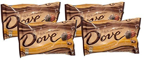 ark Chocolate Swirl Promises, 8.5 oz. Packages, 4 Pack by Dove (Mocha Dark Chocolate Swirl)