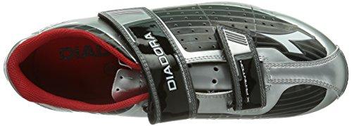 schwarz Diadora Sportive X 7720 silber Scarpe Phantom Ciclismo weiß 42 Unisex silber Dd Adulto Argento rRwzBrq