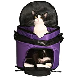 SturdiTote Purple Pet Carrier