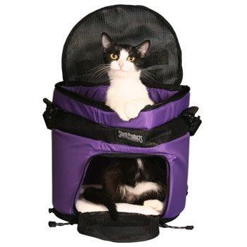 SturdiTote Purple Pet Carrier