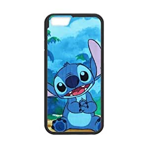 iphone6 4.7 inch Phone Case Black Disneys Lilo and Stitch ES3TY7873489