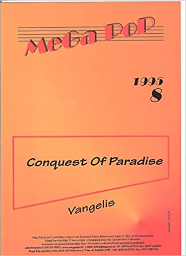 Conquest Of Paradise For Piano Chords Vangelis 4567890456455