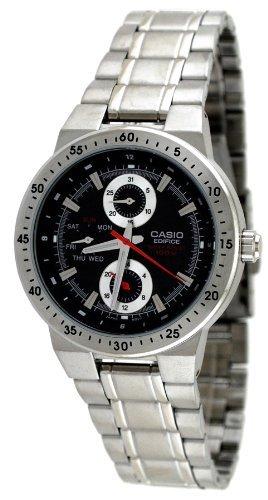 Casio #EF314D-1AV Men's Edifice Stainless Steel Multi Function Sports Watch - 1av Casual Sports Watch