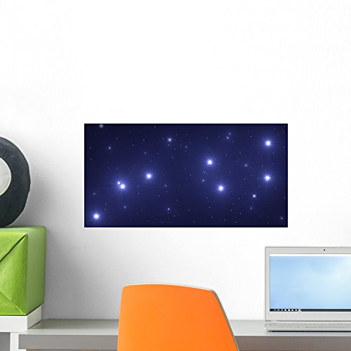 Wallmonkeys The Big Dipper Wall Decal Peel and Stick Graphic WM103186 (18 in W x 9 in H) -