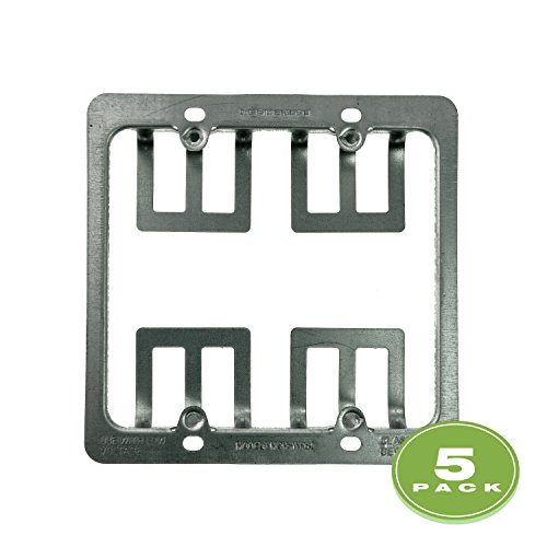 Mediabridge Low Voltage Mounting Bracket - 2 Gang (5 Pack)