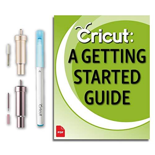 (Cricut Maker Machine Fabric Blade and Housing, Premium Fine-Point Blade, Fabric Pen Accessory Kit)