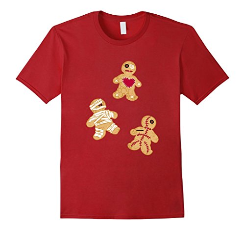 Mens Gingerbread Voodoo Man Funny Halloween Costumes T-Shirt XL (Voodoo Costumes Ideas)