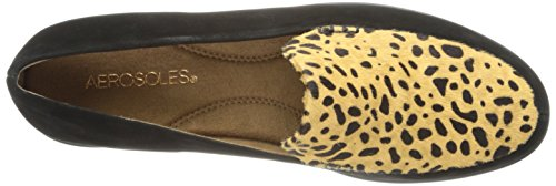 Aerosoles Womens Verlanglijstje Slip-on Loafer Cheetah Combo