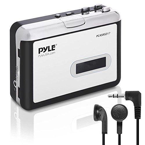 Pyle 2en 1convertidor de cassette grabadora y USB Walkman reproductor de casete–Batería portátil alimentado cinta...