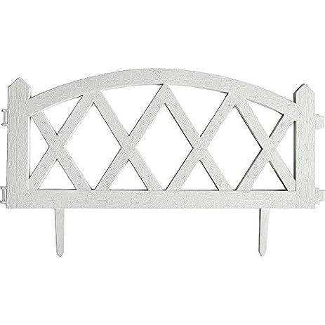 MINTCRAFT GF 3118 4 Pack Garden Fence, 24 By 13 Inch,