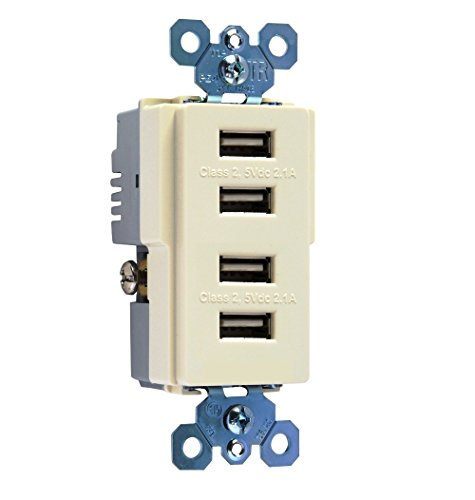 Seymour TM8USB4LACC6 Charger Light Almond product image