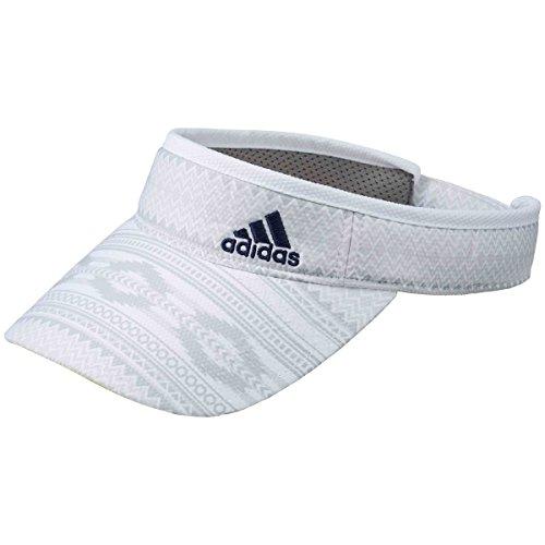 アディダス Adidas 帽子 トライバルパターンサンバイザー レディス ホワイト フリー