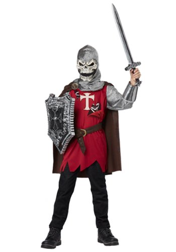 [California Costumes Skull Knight Child Costume, X-Large] (Horror Costumes For Kids)