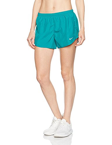 Nike Womens 3 Tempo Modern Embossed Running Short Rio Teal/Reflective Silver Shorts XS X 3
