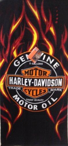 Licensed Harley Davidson Motor Cycles Bath Beach Towel 30